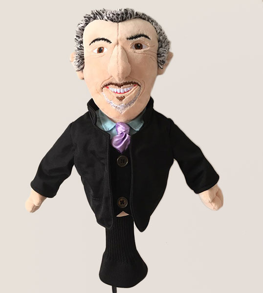 Feherty Talking Headcover
