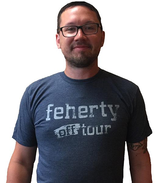 David Feherty T-shirt