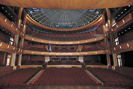 The Touhill Performing Arts Center - St. Louis, MO